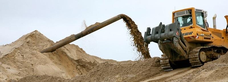мытый песок, купить мытый песок, мытый песок цена в уфе