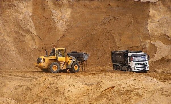песок карьерный цена, купить карьерный песок с доставкой, строительный песок цена за куб