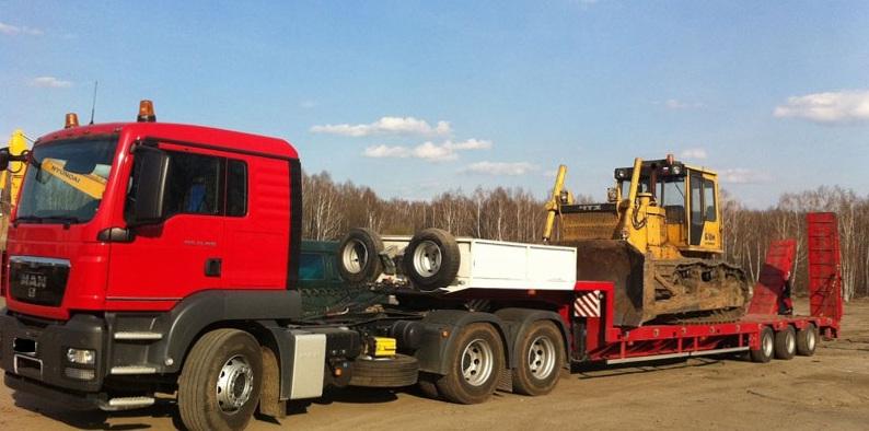 услуги трала по россии, перевозка спецтехники, аренда трала уфа, перевозка крупногабаритных грузов