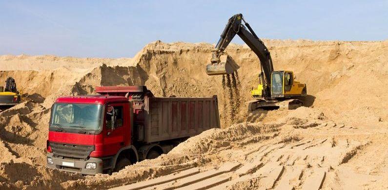 купить карьерный песок в Уфе, карьерный песок цена, доставка песка карьерного